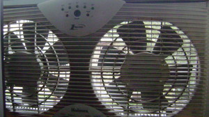 You've fought the good fight, window fan.