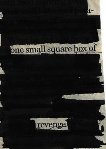 one small square box of revenge