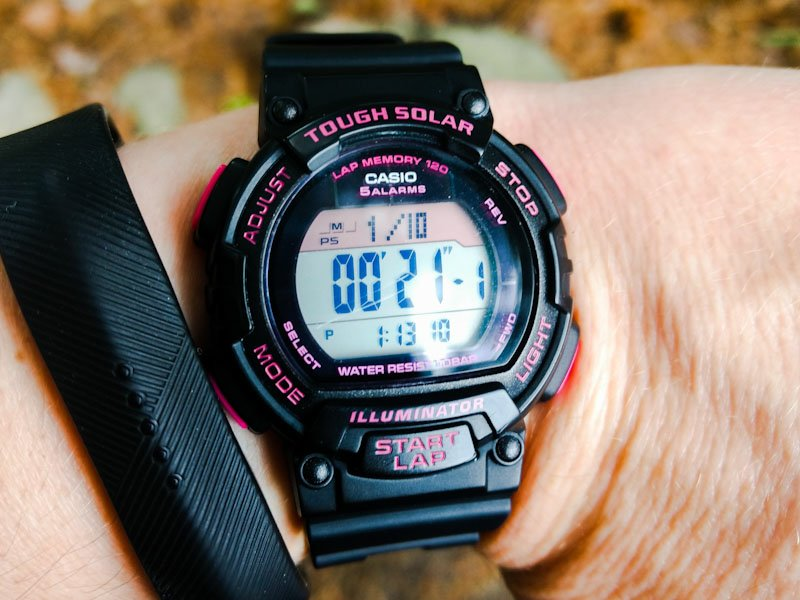 A Casio Tough Solar Watch