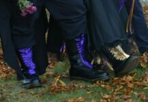 matching wedding Doc Martens