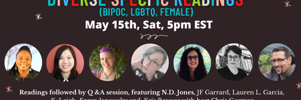 Diverse Speculative Fiction Reading Event