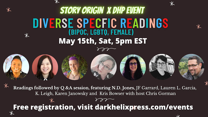 Diverse Speculative Fiction Banner